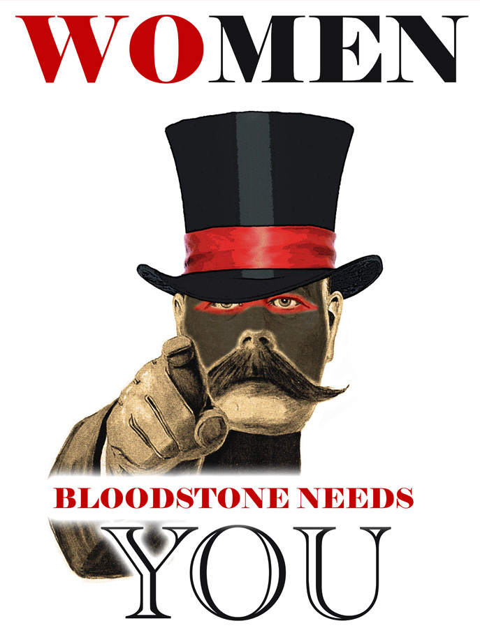 Bloodstone Recruiting Poster