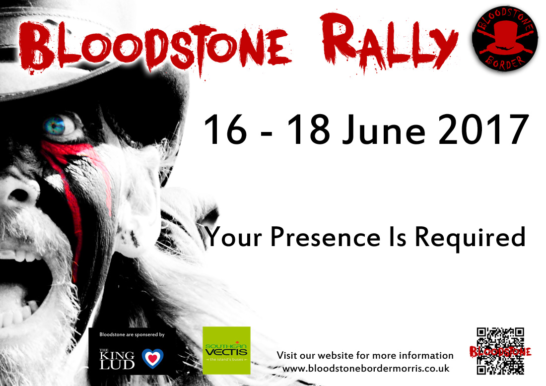 Bloodstone Border Rally 2016 Poster